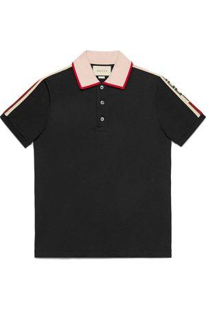 Gucci Men Polo Shirts - Stripe polo shirt