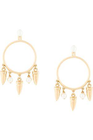 ESHVI Hula Hoops earrings