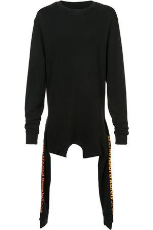 MOSTLY HEARD RARELY SEEN Men Sweatshirts - Asymmetric double layer sweatshirt