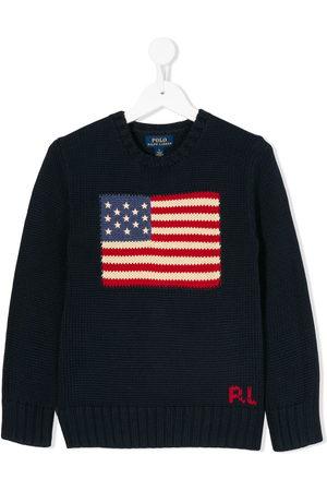 Ralph Lauren Boys Sweaters - USA flag jumper