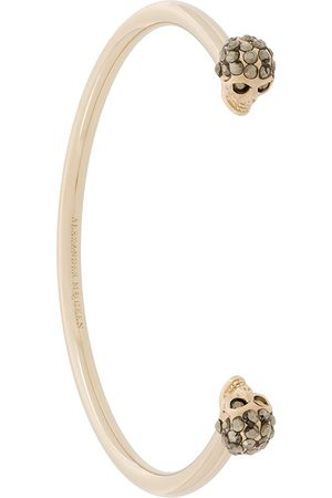Alexander McQueen Twin skull bracelet