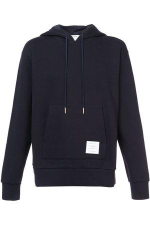 Thom Browne RWB stripe loopback hoodie