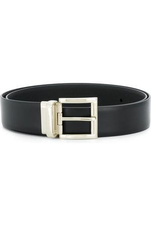 Prada Men Belts - Square buckle belt