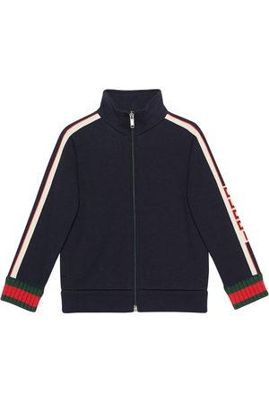 Gucci Children's sweatshirt with Gucci jacquard trim