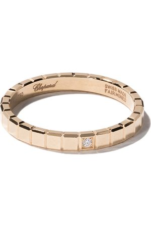 Chopard 18kt yellow gold Ice Cube Pure diamond ring