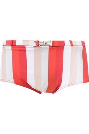 AMIR SLAMA Striped swim briefs