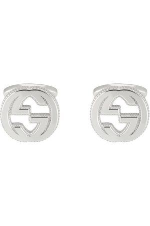 Gucci Interlocking G cufflinks in silver