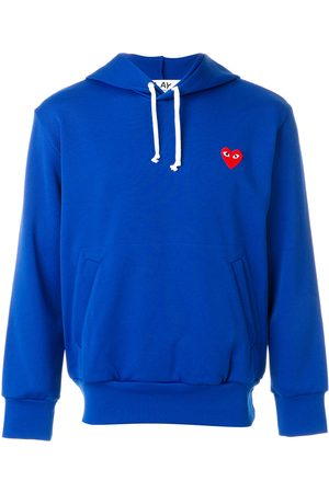 Comme des Garçons Men Hoodies - Heart appliqué hoodie
