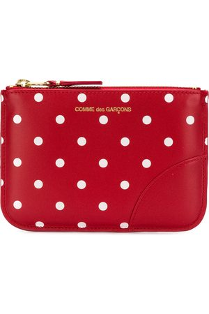 Comme des Garçons Polka Dots Printed purse