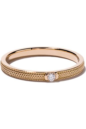 De Beers 18kt rose gold Azulea diamond band