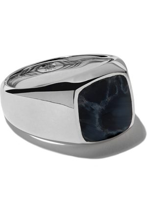 David Yurman Exotic Stone pietersite signet ring