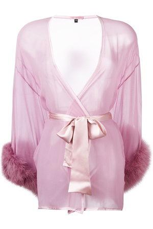 Gilda & Pearl Diana sheer kimono gown