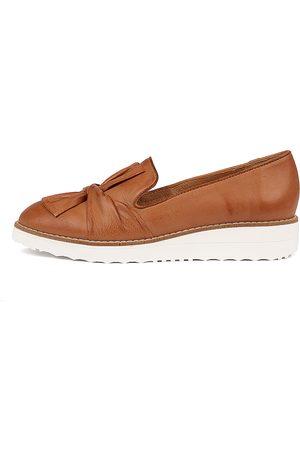Top end Women Brogues & Loafers - Oclem Dk Tan Shoes Womens Shoes Flat Shoes