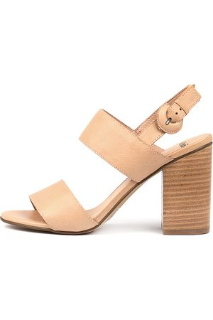 Mollini Women Heels - Oline Latte Sandals Womens Shoes Dress Heeled Sandals