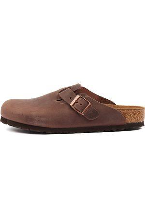 Birkenstock Boston Habana Shoes Womens Shoes Casual Flat Shoes