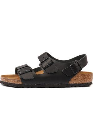 Birkenstock Men Flat Shoes - Milano Bk Sandals Mens Shoes Resort Sandals Flat Sandals