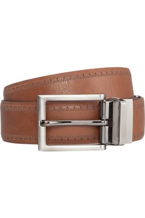 Yd. Men Belts - Miles Brogue Dress Belt 30
