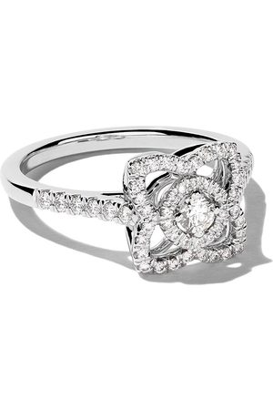 De Beers 18kt Enchanted Lotus diamond ring