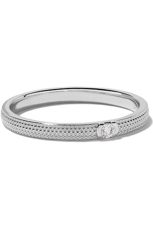 De Beers 18kt Azulea diamond band