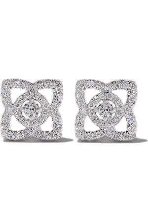 De Beers 18kt Enchanted Lotus diamond stud earrings