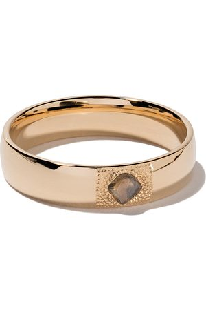 De Beers 18kt yellow gold Talisman diamond 5mm band