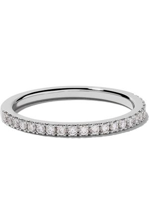 De Beers DB Classic half pavé diamond band