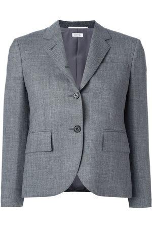 Thom Browne Classic Single Breasted Sport Coat In Medium 2-Ply Wool Fresco