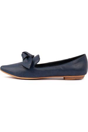 I LOVE BILLY Women Casual Shoes - Bowen Navy Shoes Womens Shoes Casual Flat Shoes
