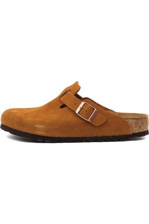 Birkenstock Women Casual Shoes - Boston Sfb Mink Shoes Womens Shoes Casual Flat Shoes