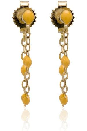 GIGI CLOZEAU Gold YG bead earrings
