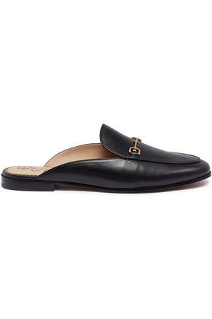 Sam Edelman Linnie' horsebit leather loafer slides