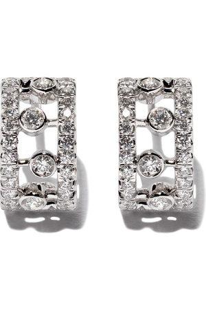 De Beers 18kt Dewdrop diamond earrings