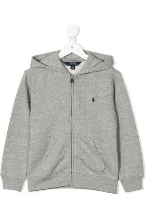 Ralph Lauren Zipped logo hoodie