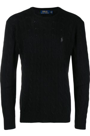 Polo Ralph Lauren Men Sweaters - Cable-knit logo embroidered jumper