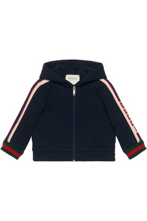 Gucci Baby sweatshirt with Gucci stripe