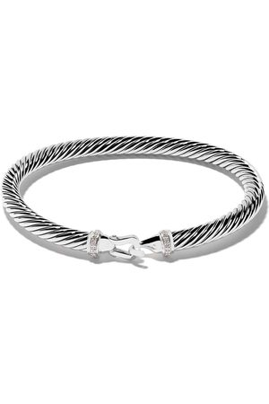 David Yurman Cable Collectibles diamond buckle bracelet