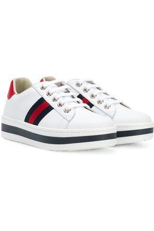 Gucci Girls Sneakers - Web low-top sneakers