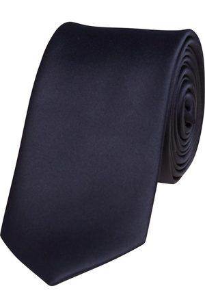 Yd. Men Neckties - Matte Satin 6.5 Cm Tie Navy One