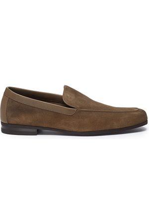 JOHN LOBB Tyne' suede loafers