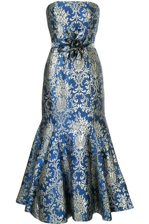 Bambah Bluestar midi dress
