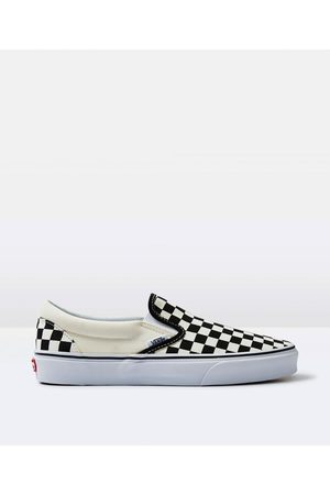 Vans Classic Slip On Checkerboard Shoe