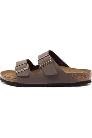 Birkenstock Women Flat Shoes - Arizona Mocca Sandals Womens Shoes Casual Sandals Flat Sandals
