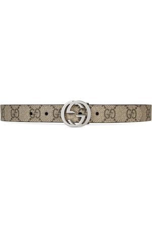Gucci Children's GG Supreme belt