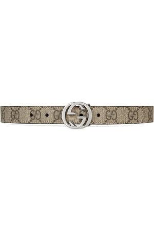Gucci Girls Belts - Children's GG Supreme belt