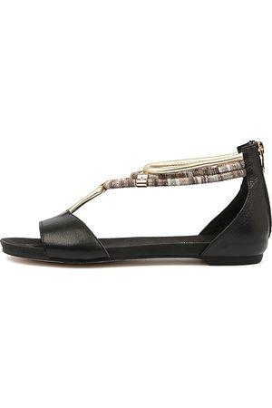Django & Juliette Jazmin Sandals Womens Shoes Sandals Flat Sandals