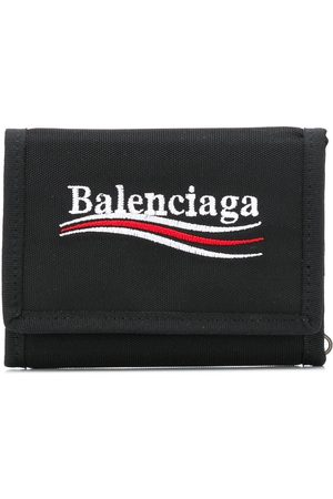 Balenciaga Explorer square coin wallet