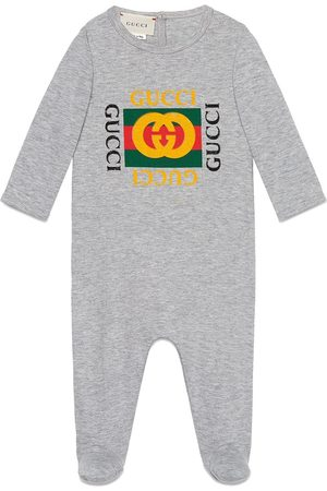 Gucci Baby sleepsuit with Gucci logo