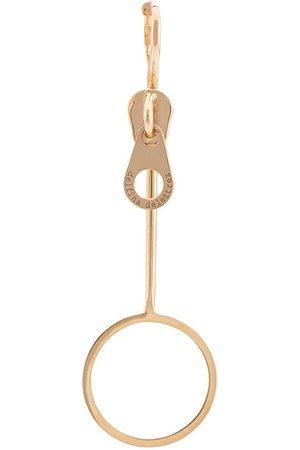 DELFINA DELETTREZ Women Earrings - Zip earring
