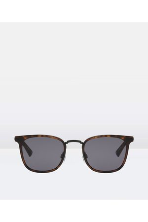 Le Specs Racketeer Matte Tort Sunglasses