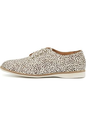 Rollie Women Loafers - Derby Rl Pony Snow Leopard Shoes Womens Shoes Casual Flat Shoes